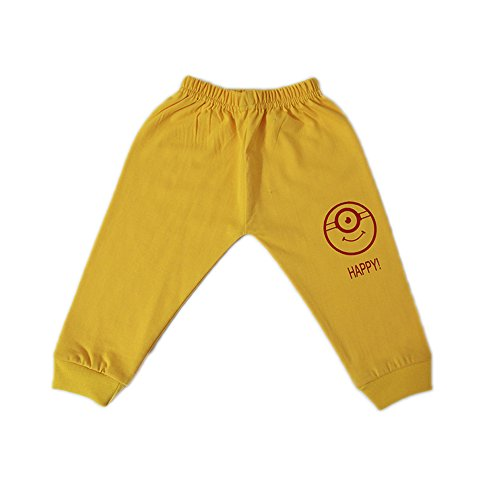 Jack's Star Kids Cotton Track Pants - Pack of 6 (JacksStar_006, Multicolour, 18-24 Months)