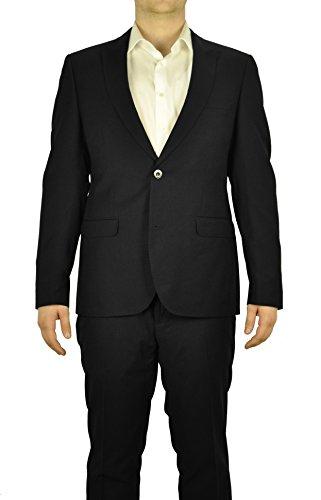 Slim Fit Michaelax-Fashion-Trade Konfirmationsanzug Herren Anzug in Schwarz oder Blau 880 1420 Luigi//Elio