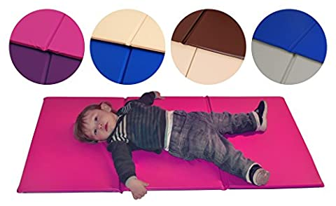 TRIPLE FOLDING NURSERY SLEEP MAT for TODDLERS and CHILDREN - Best selling Sleeping Mat with 1 year manufacturing warranty. Great for Childminder too. (Set of 5)