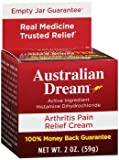 Australian Dream Arthritis Pain Relief Cream, 60ml - Best Reviews Guide