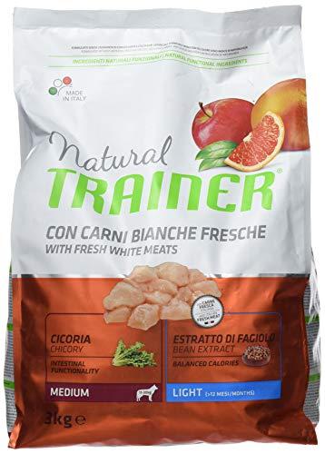 Natural Trainer Trainer Natural Medium Light kg. 3 Cibo Secco per Cani, Multicolore, Unica