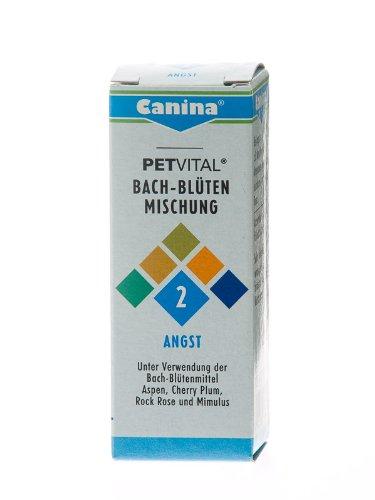 Canina 71410 0 Petvital Bachblüten Nr. 2 Angst 10 g - für Tiere