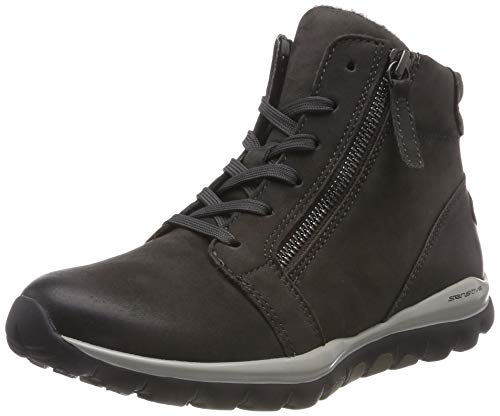 Gabor Shoes Damen Rollingsoft Stiefeletten, Grau (Dark-Grey (Mel.) 39), 40 EU