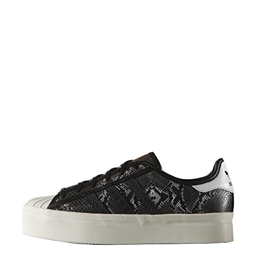 adidas Originals Superstar Damen Sneakers Schwarz (Schwarz/Grau)