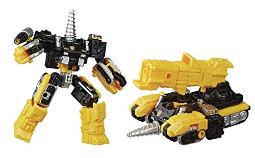 Transformers Generation Husbro Selects Powerdasher Drill Deluxe Action Figure