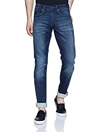 Superdry Men's Tapered Jeans (M70001JQF4_Deep Blue_31W x 34L)