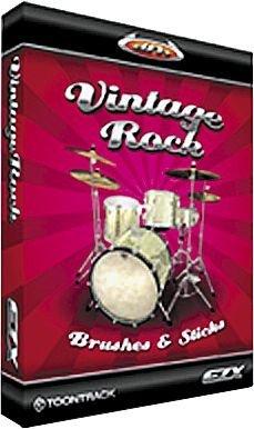 Toontrack Vintage Rock EZX   download-key   EZ-Drummer Add-on (Ez Keys)