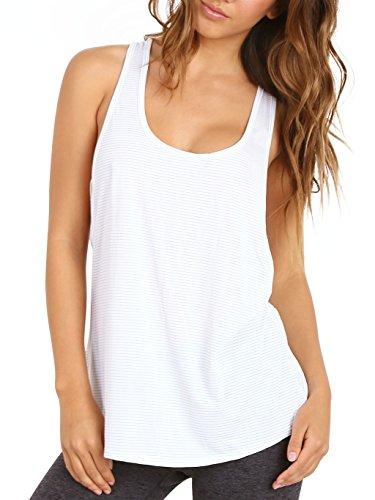 Runlola_Shop Beyond Yoga Low Cut Top White