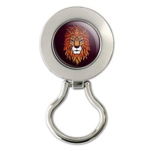Löwe Religiöse King Krone Bibel Christian Magnetverschluss Metall Schlüsselanhängerform ID Badge Holder