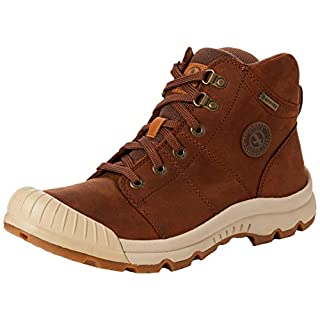 Aigle Women's Tenere Leather & Gtx W High Rise Hiking Shoes, Brown (Camel), 4 UK