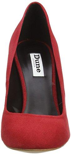 Dune Aubree, Damen Pumps Rot (red-suede)