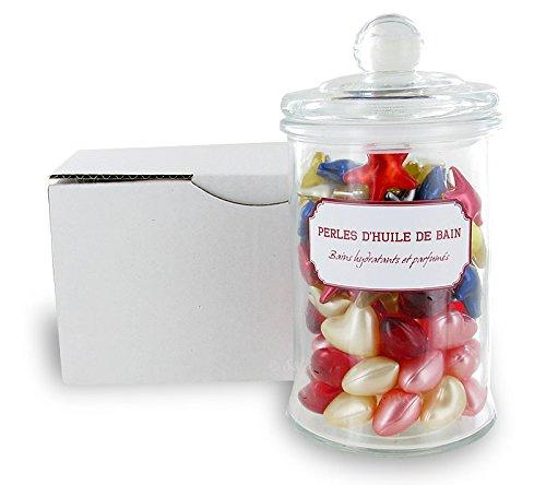 100-perles-dhuile-de-bain-dans-un-bocal-en-verre-love