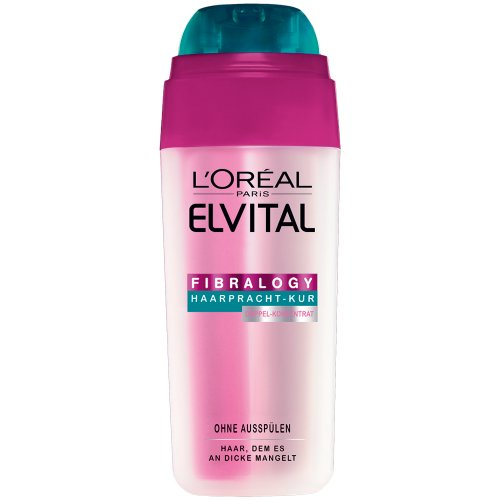 L'Oréal Paris Elvital Fibralogy Doppel-Konzentrat, 1er Pack (1 x 30 ml)