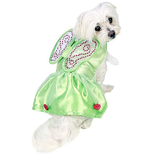 Fee Tinkerbell Hundekostüm Karneval Gr.M (Tinkerbell Kostüm Hund)