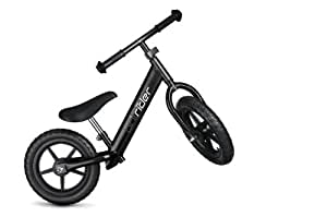 Brilrider Balance Bike for 1-5 year-old Toddlers (Black)