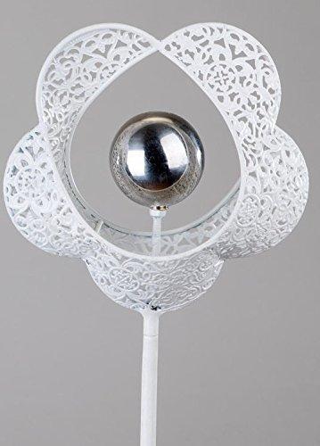formano Jardin en métal Motif fleur, 120 cm