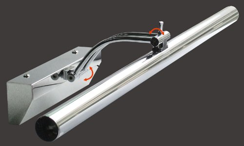 Design Bilderleuchte in Chrom-Hochglanz 30x Power 6000K kalt-weiß LED Trango TGSP-308