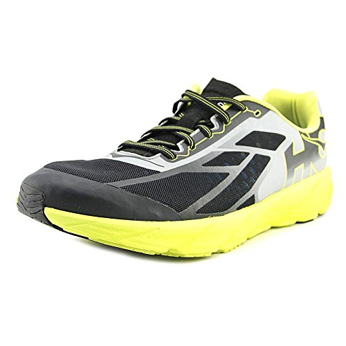 Hoka One Men's Tracer Black/Citrus Ankle-High Running Shoe - 7M