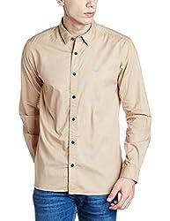 Park Avenue Mens Casual Shirt (8907663013564_PCSA01356-F3_42_Medium Fawn)