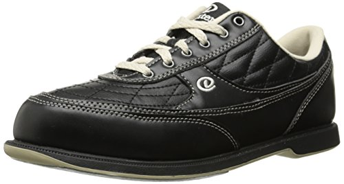 Dexter Herren Turbo II Breit Breite Bowlingschuhe schwarz Black/Khaki US 11.5, UK 10 (Elite-bowling-bowling-schuhe)