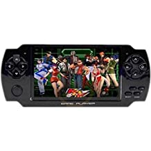 Classic PSP Handheld Gaming Console 8 GB With 10000 Games ,WiFi,FM,TF Memory Card And Camera 4.3 Inch Screen Full HD 1080p [ Color May Very ] - Smart One
