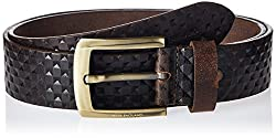 Peter England Mens Leather Belt (8907495139289_RL51691451_Large_Brown)