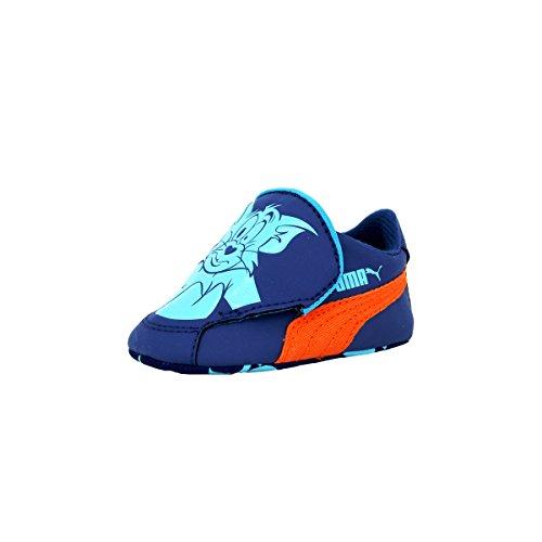 Puma CRIB PACK TOM ET JERRY 2 Chaussures Mode Sneakers Bebe Bleu PUMA