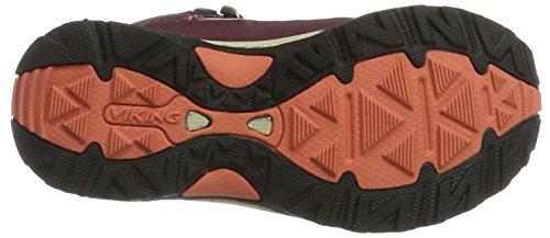 Viking Ascent Ii Jr. Gtx, Scarpe da Arrampicata Unisex – Bambini Violett (Wine/Coral)