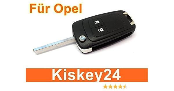 Kis 2tasten remplacement Tirez sur les Cl/és Logement pour Opel Astra J INSIGNIA CORSE E MERIVA B