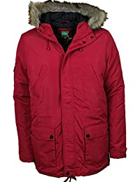 MENS NEW LEBREVE DESIGNER PARKA JACKETS AVAILABLE IN 2 COLOURS ALL SIZES SALE PRICE £49.99