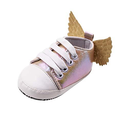 Rokoy Natale Scarpe da Ginnastica Unisex - Bambini Scarpe Stringate/Scarpe da Ginnastica Basse - Scarpe da Corsa Respirabile Antiscivolo Running Sneakers Fitness Casual Shoes