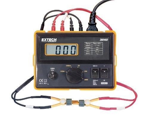 Extech 380460 110VAC Precision Milliohm Meter by Extech Extech Precision Milliohm Meter