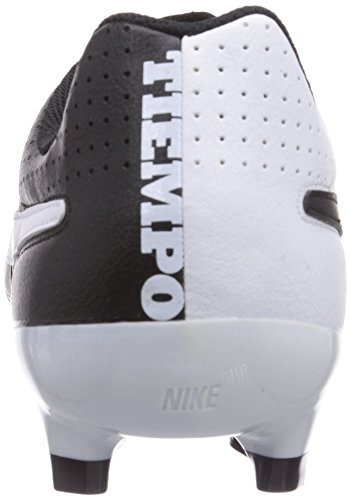 Nike Tiempo Genio Leather FG Homme Chaussures de Football Noir