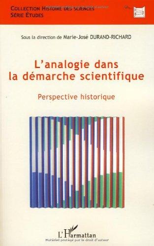 L'analogie dans la démarche scientifique : Perspective historique