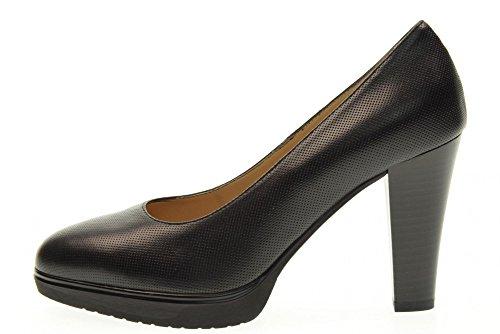 NERO GIARDINI scarpe donna decolletè tacco alto P718041DE/100 Nero
