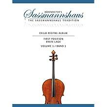 Cello Recital Album, Band 1 -18 Vortragsstücke in der ersten Lage für Cello und Klavier oder für zwei Celli-.Bärenreiter's Sassmannshaus.Spielpartitur, Stimme (Taschenbuch)
