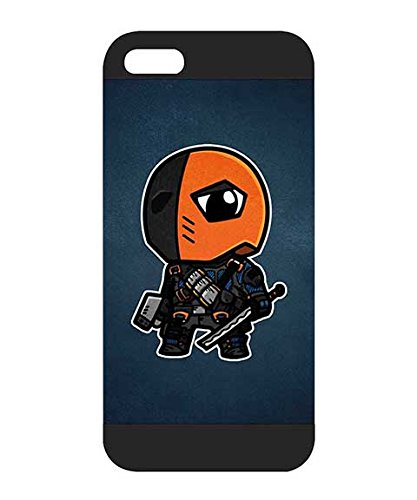 DC Comics Deathstroke Custodia Case for Iphone 5, Plastic Protecive Anti Dust Compatible with Iphone 5 / 5s