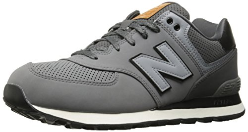 New Balance, Herren Sneaker, Grau (Grey), 43 EU (9 UK)