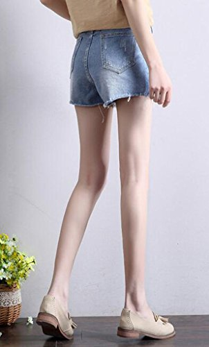 Lixmee Damen Short _13 Light Blue