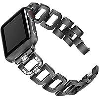 Cooljun Compatible avec Apple Watch Series 4 40mm/44mm,Bracelet de Montre de Remplacement en Acier Inoxydable