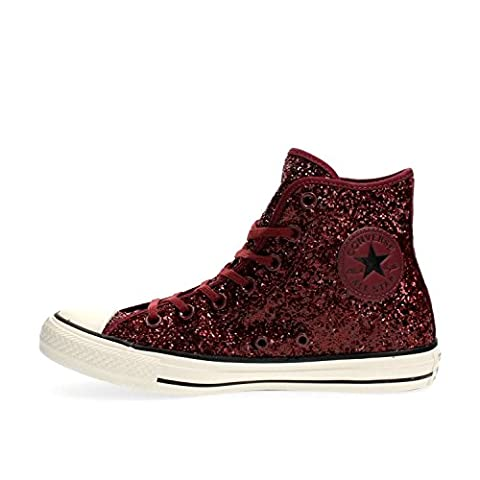 Converse - Converse All Star Chaussures de sport Femme Bordeaux Scintillement - Bordeaux, 37,5
