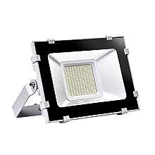 Viugreum® IP65 50W / 100W LED Projecteur Lumière - [Classe énergétique A++] - Blanc chaud (2800-3200K) et Blanc froid (6000-6600K) - 5F