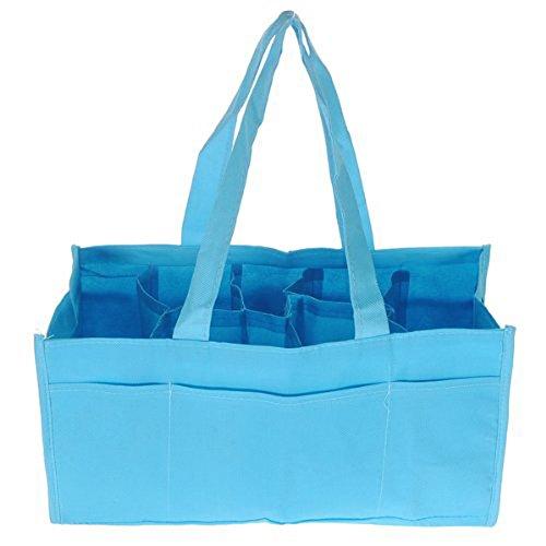 toogoortravel-outdoor-portable-baby-diaper-nappy-storage-insert-organizer-bag-toteblue