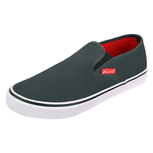 Fsports Men's Navy Canvas Casual Shoes 10UK  available at amazon for Rs.599