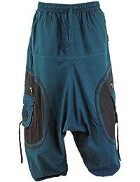 Guru-Shop Goahose, Herren Afghani, Baumwolle, Männerhosen Alternative Bekleidung