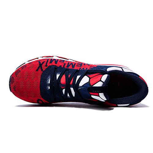 Cushion Mid Top Mens Onemix Womens And Running Walking Shoes Dark Air Red Sports Knit Trainers Blue Fitness dxqpYTYnt