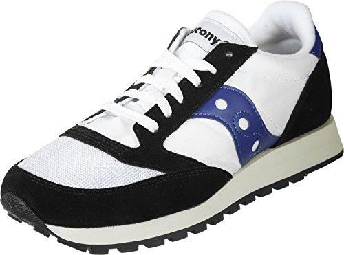 0e1573f4f14e Saucony Herren Jazz Original Vintage Sneaker Blau 40 EU Weiß - maarte.de