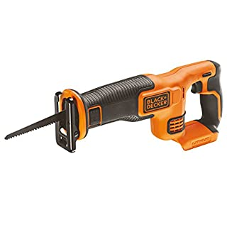 BLACK+DECKER 18V Cordless Reciprocating Saw - Bare Unit (Battery not included)