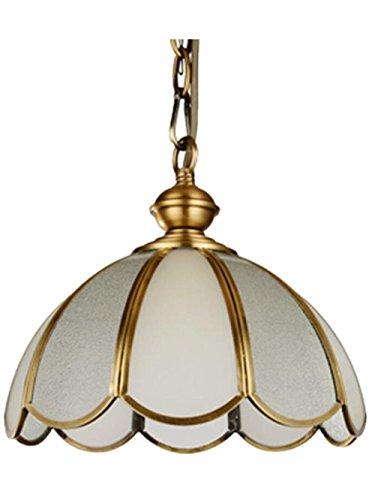Anhänger-montage-kit (XXFFH Glühlampen Leuchtstofflampe Licht Fyn Moderne Vintage Antique Brass Anhänger Helle Schirm Industrial Hängende Deckenleuchte Ideal Für Esszimmer Bar Clubs & Restaurants)