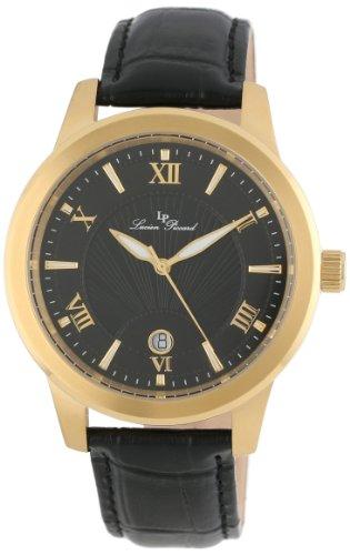 Lucien Piccard LP-10046-YG-01 - Reloj de Pulsera Hombre, Color Negro